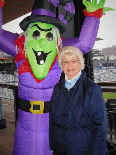My Mom and the Wicked Witch... My Mom is the one on the right.